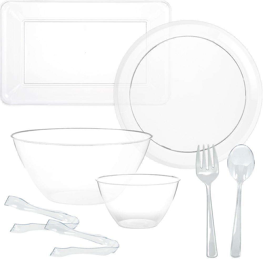 Clear Serveware Kit Image #1