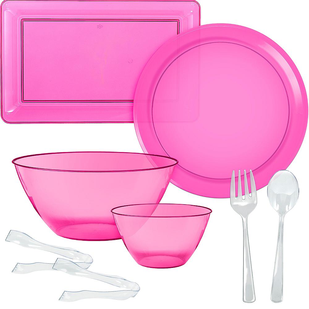 Bright Pink Serveware Kit Image #1