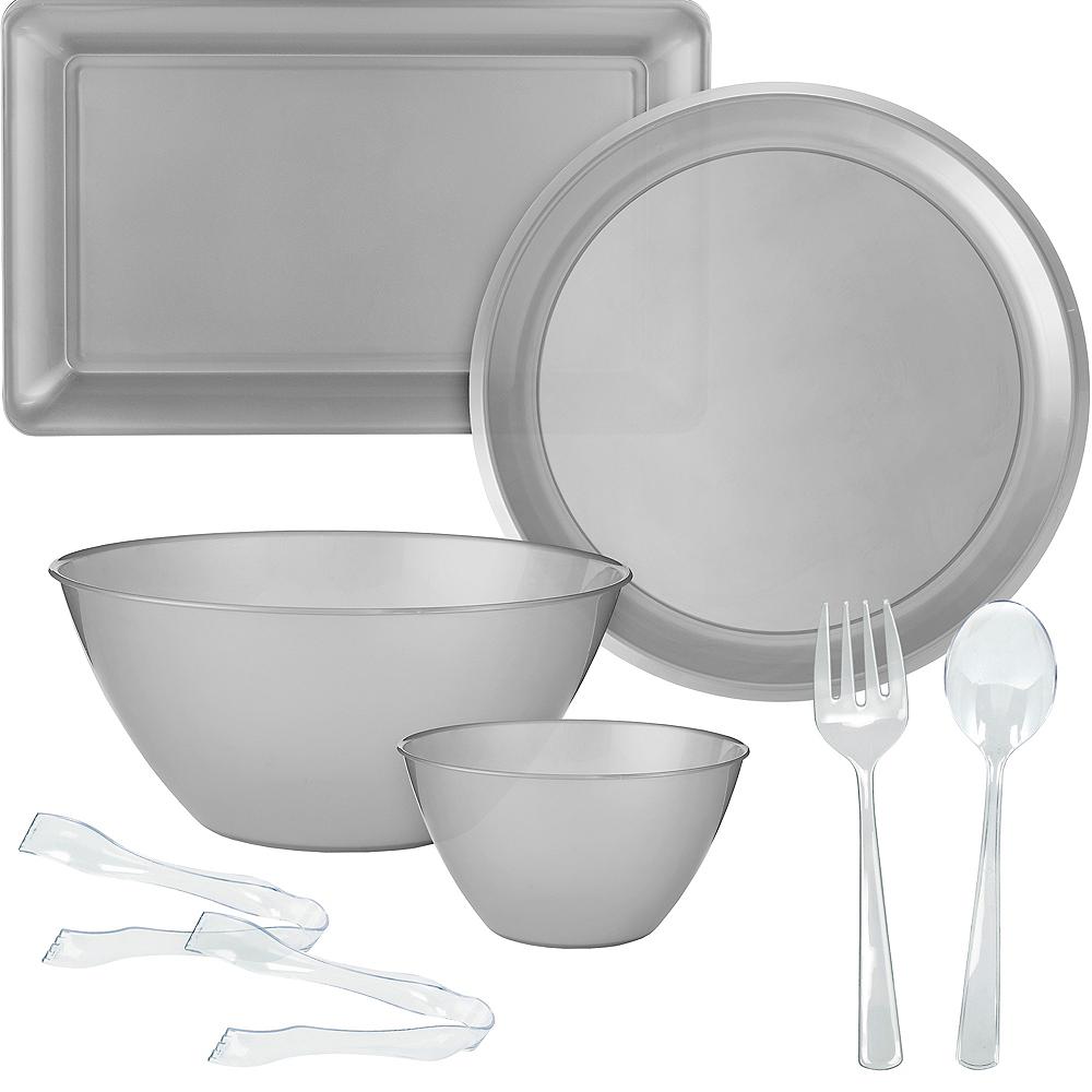 Silver Serveware Kit Image #1