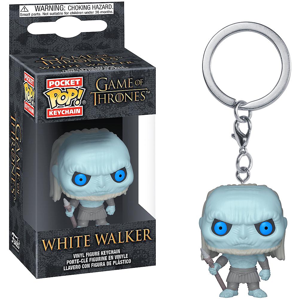 Funko Pop! Pocket Keychain White Walker Figure - Game of Thrones Image #1