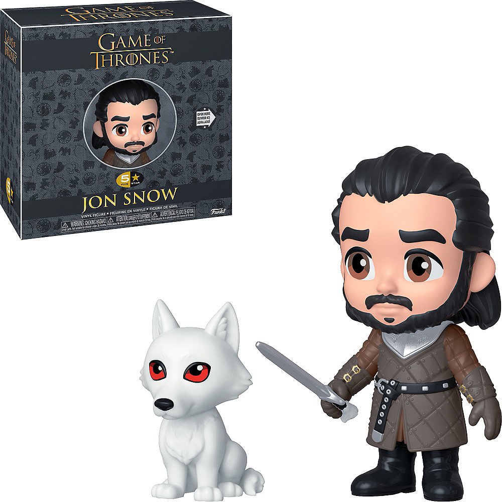 Funko 5 Star Jon Snow Figure - Game of Thrones Image #1