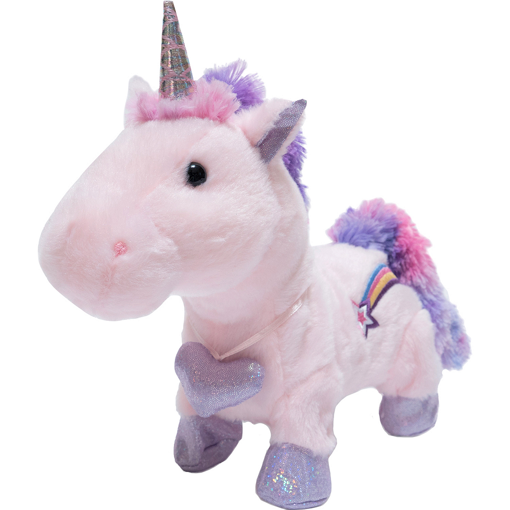Nav Item for Animated Starry Sparkle Cuddle Barn Unicorn Plush Image #1