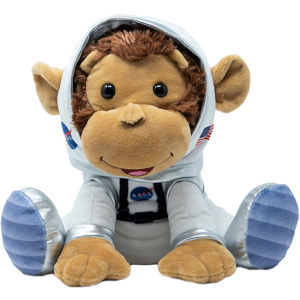 Animated Astro Cuddle Barn Monkey Plush Image #1