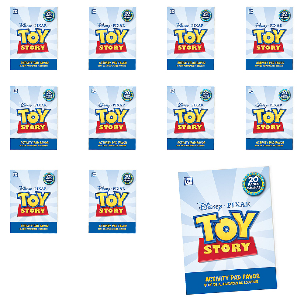 Toy Story 4 Activity Pads 48ct Image #1