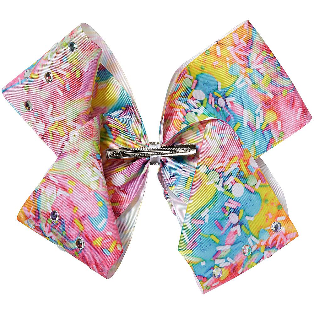 JoJo Siwa Rainbow Gem Mega Hair Bow Image #2