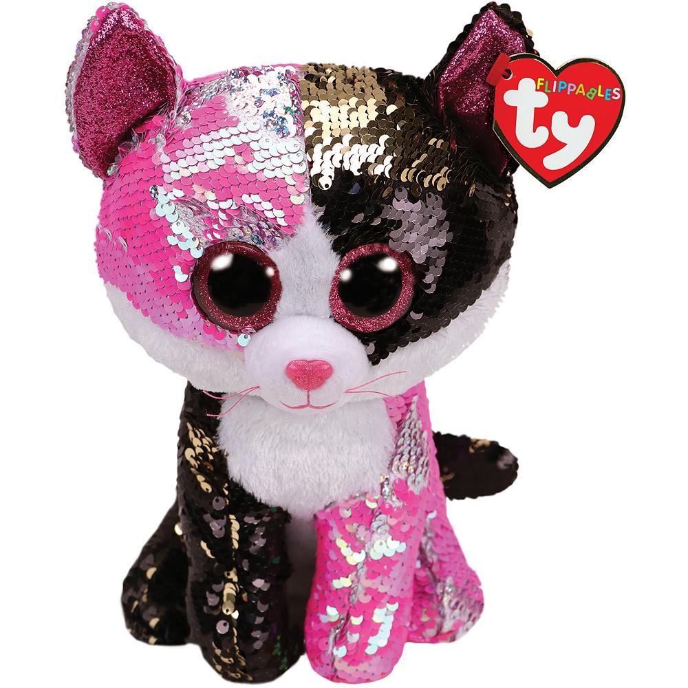 Malibu Flippables Cat Plush Image #1