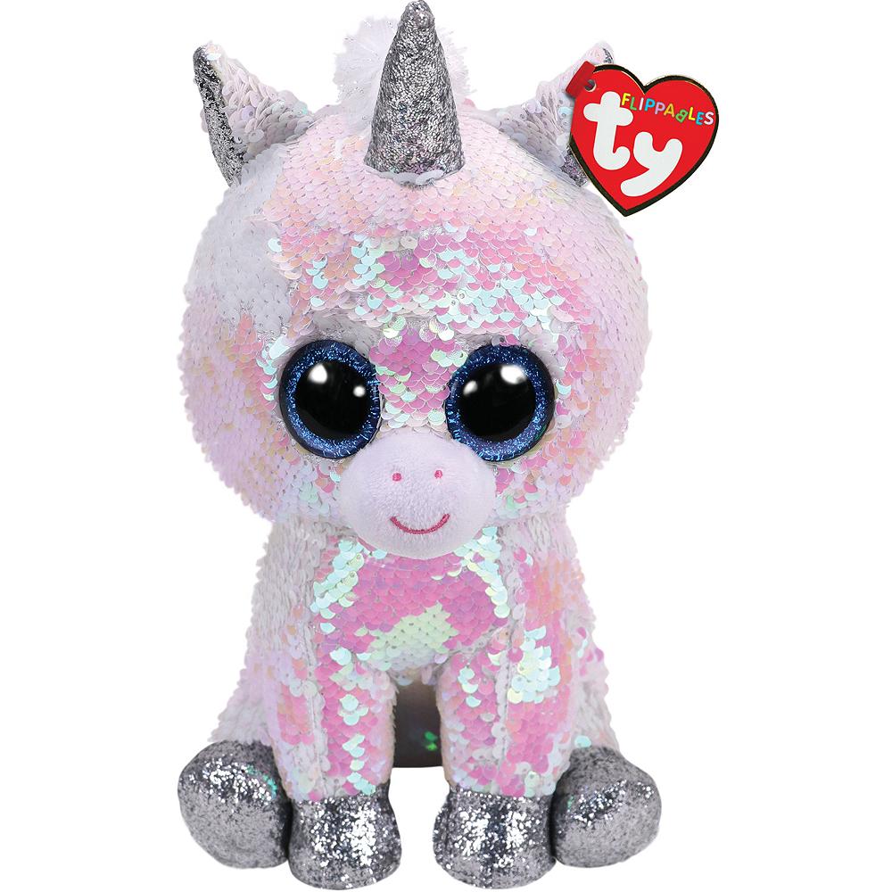 Diamond Flippables Unicorn Plush Image #1