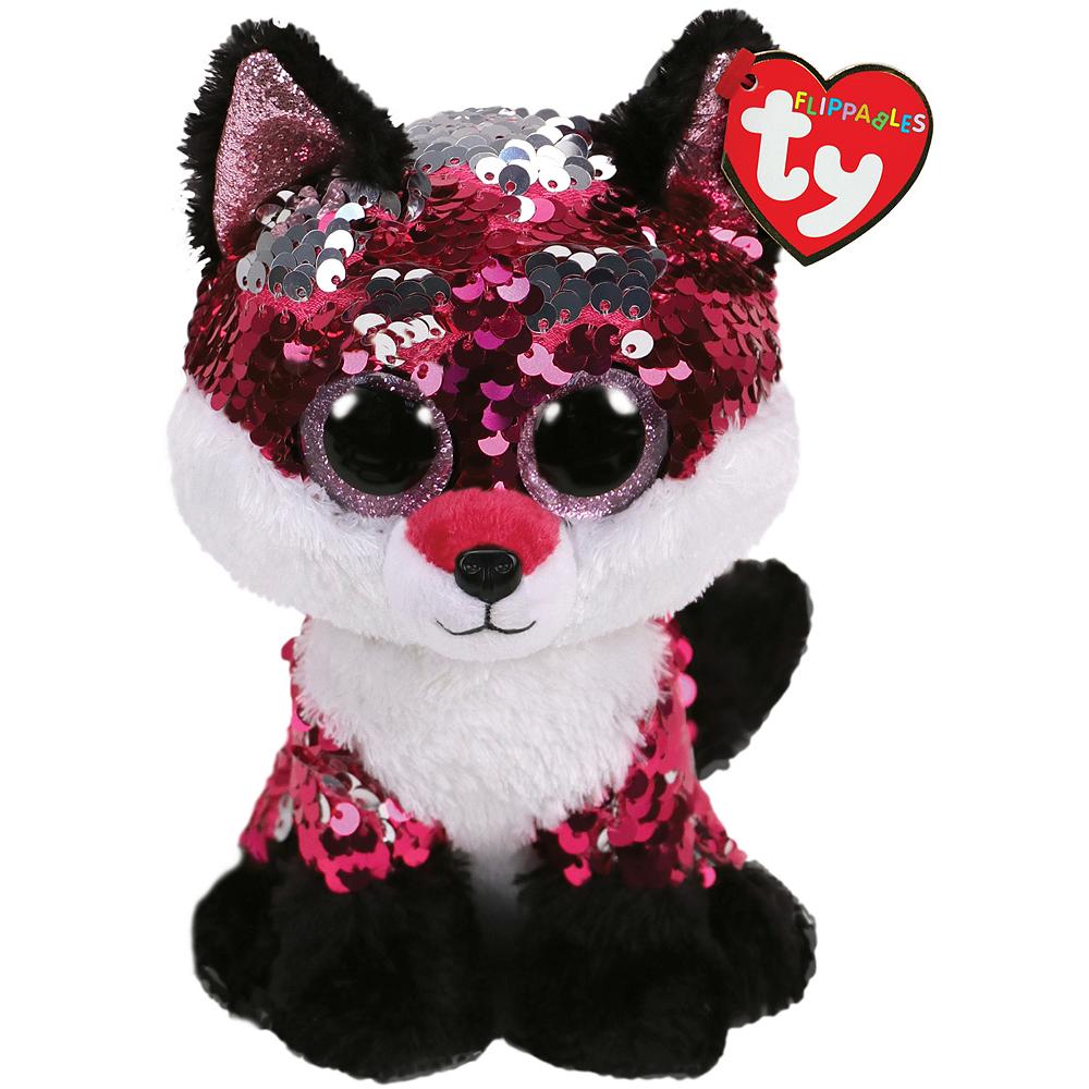 Mini Jewel Flippables Fox Plush Image #1