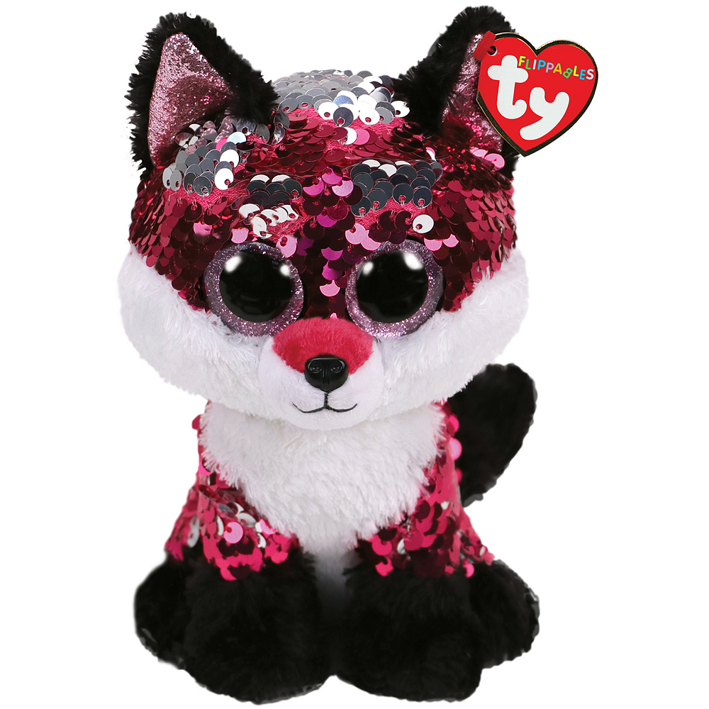 Nav Item for Jewel Flippables Fox Plush Image #1