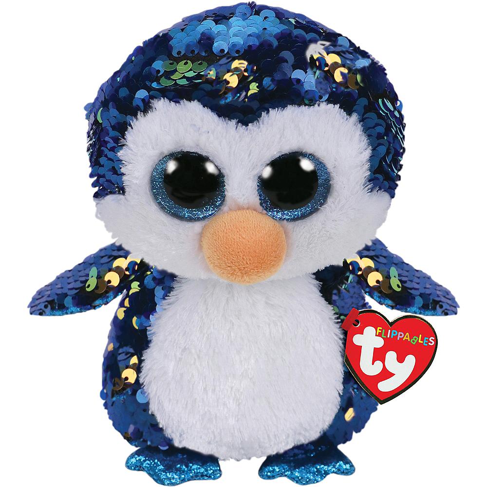 Payton Flippables Penguin Plush Image #1