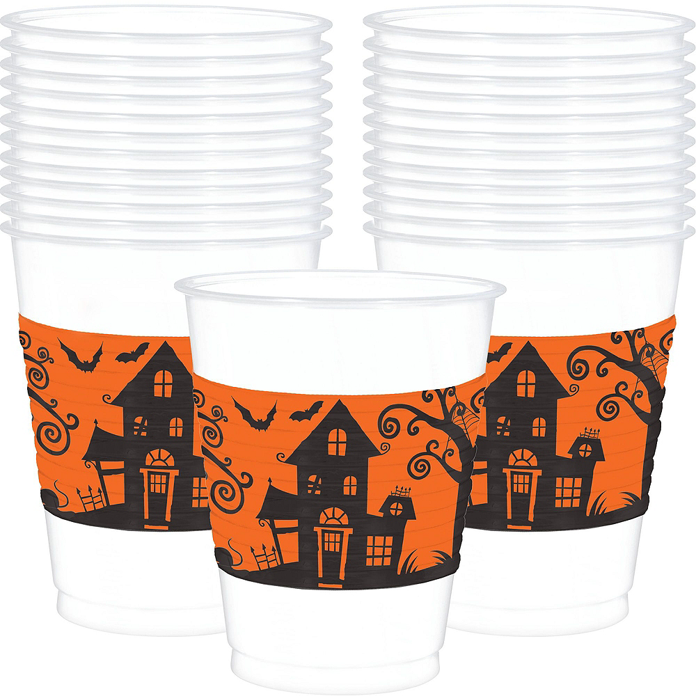 Hallows' Eve Dessert Tableware Kit for 18 Guests Image #9