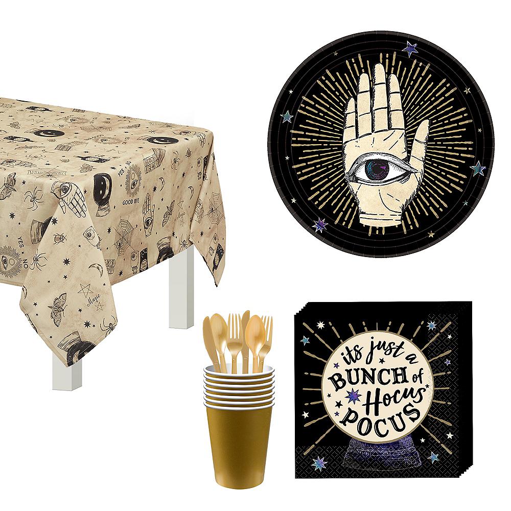 Spooks & Spells Dessert Tableware Kit for 8 Guests Image #1