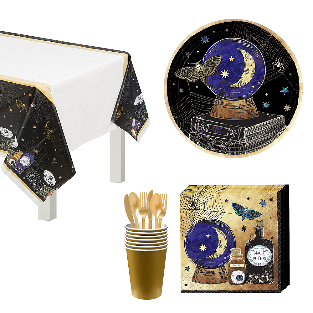 Spooks & Spells Tableware Kit for 8 Guests Image #1