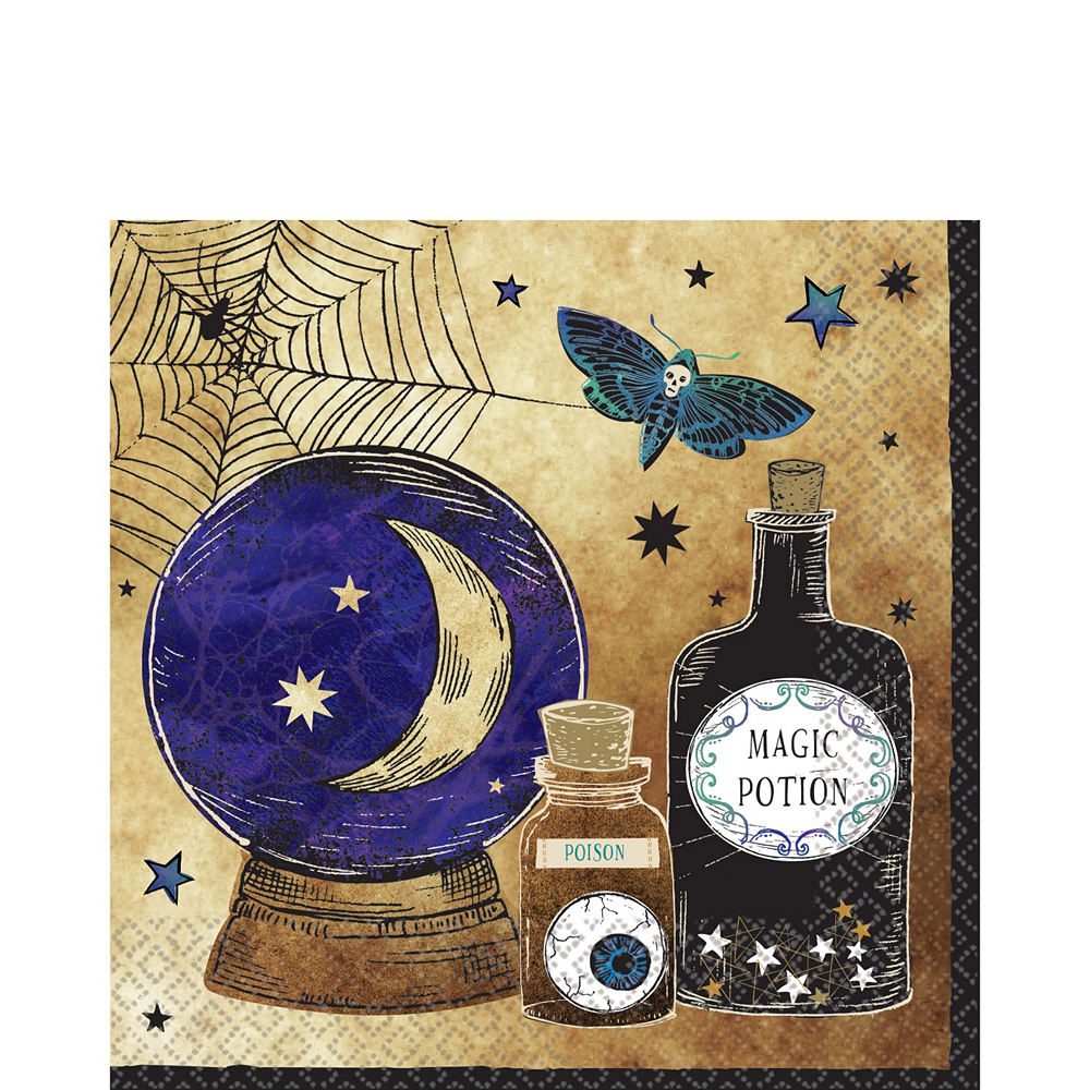 Spooks & Spells Tableware Kit for 8 Guests Image #6