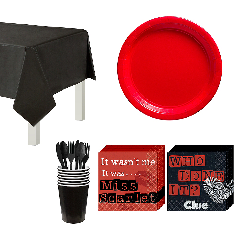 Clue Tableware Kit for 16 Guests Image #1