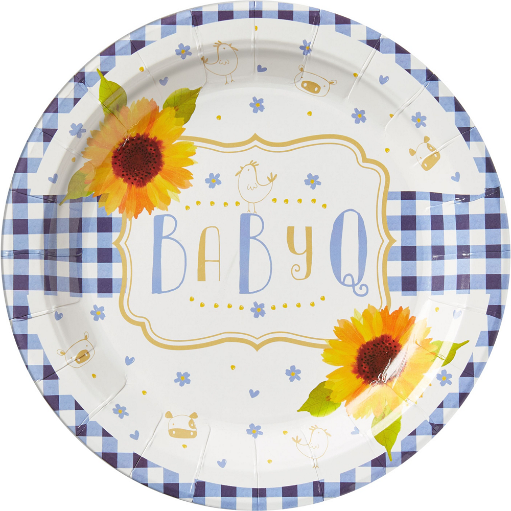 Baby Q Baby Shower Tableware Kit for 16 Guests Image #3