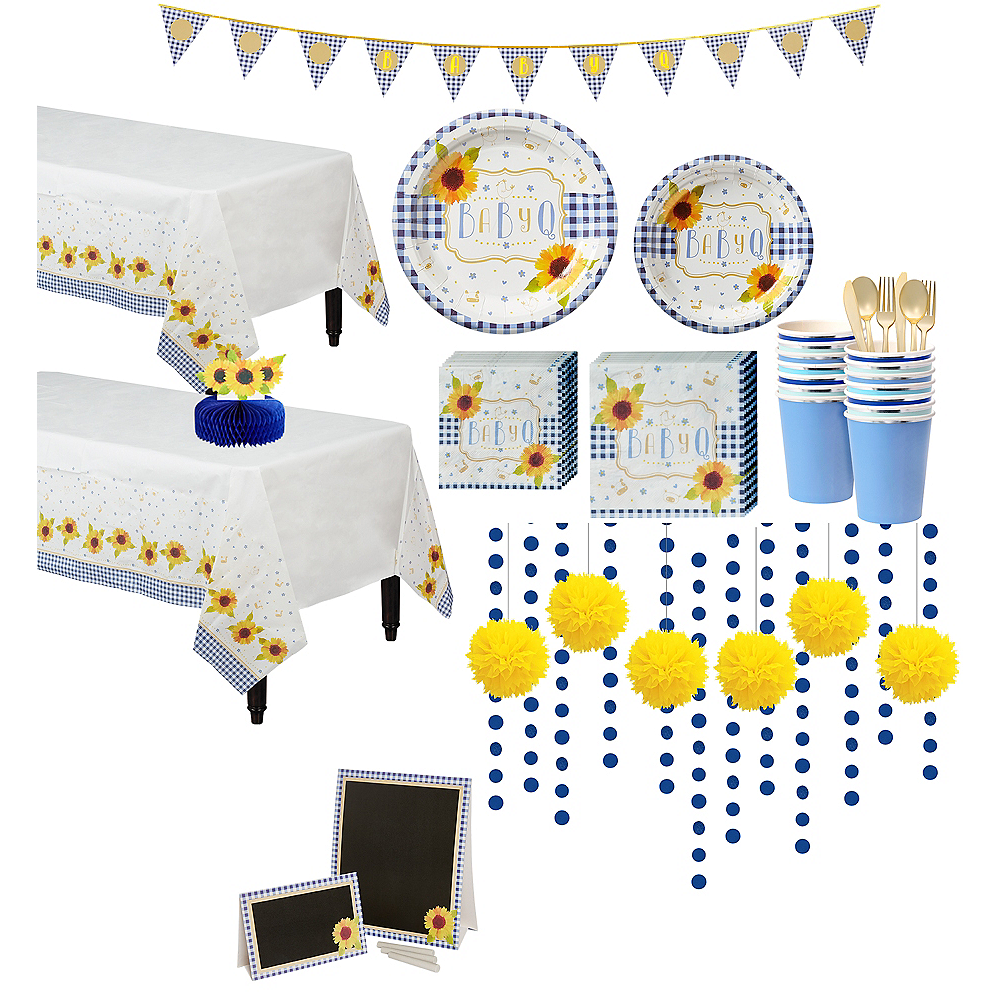 Baby Q Baby Shower Party Kit for 32 Guests Image #1