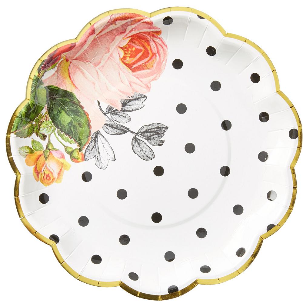Pop Blush Rose Bridal Shower Tableware Kit for 32 Guests Image #3