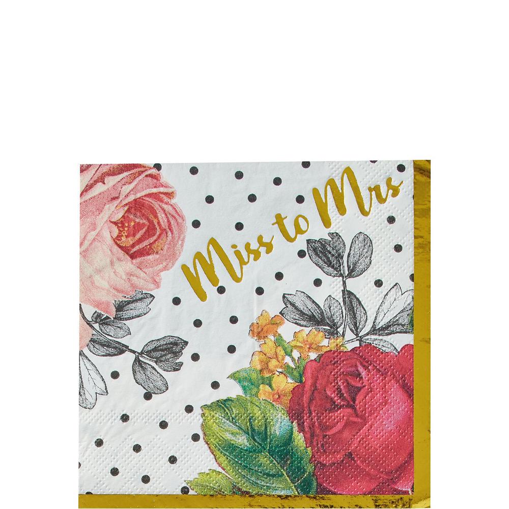 Pop Blush Rose Bridal Shower Tableware Kit for 32 Guests Image #4