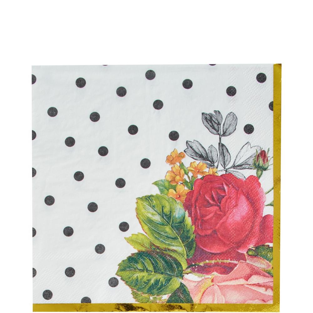 Pop Blush Rose Bridal Shower Tableware Kit for 32 Guests Image #5