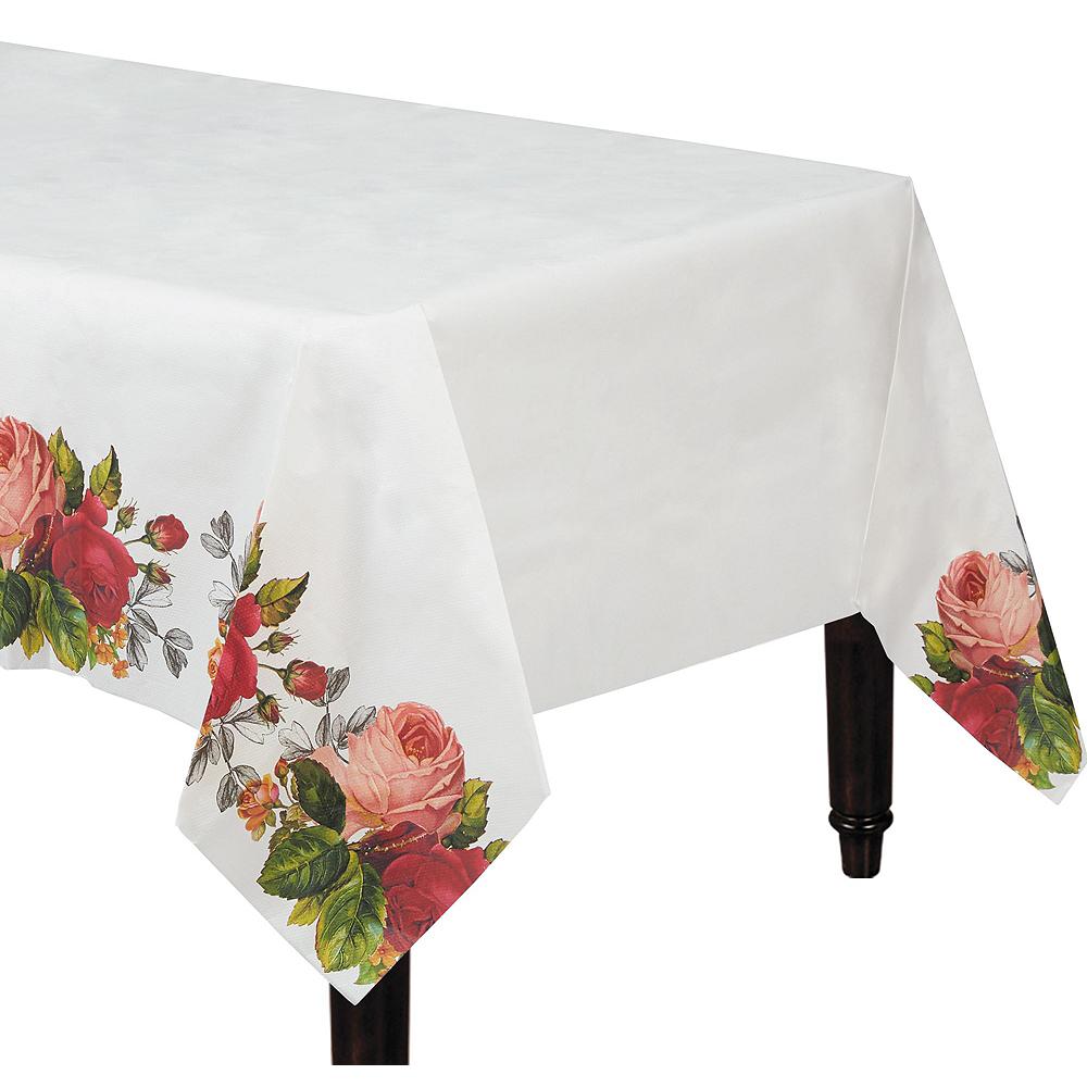 Pop Blush Rose Bridal Shower Tableware Kit for 32 Guests Image #6