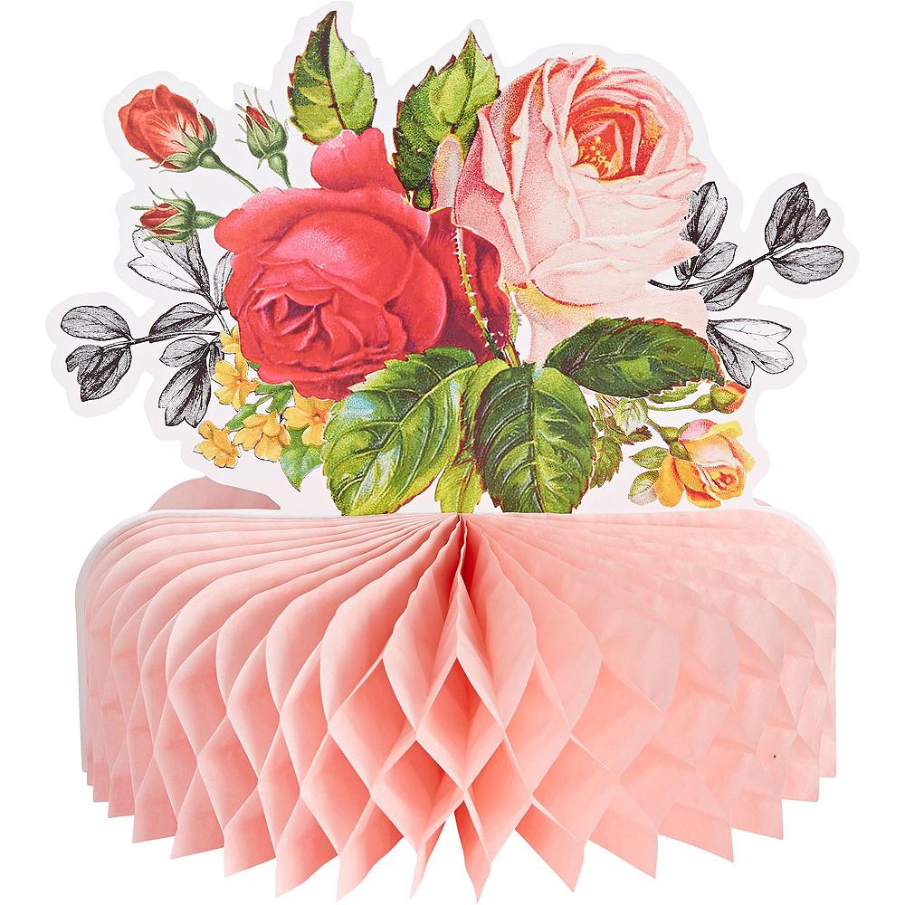 Pop Blush Rose Bridal Shower Tableware Kit for 32 Guests Image #8