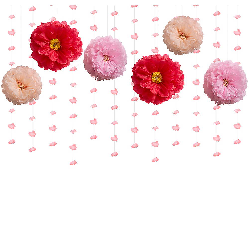 Floral Bridal Shower Decorating Kit Image #1