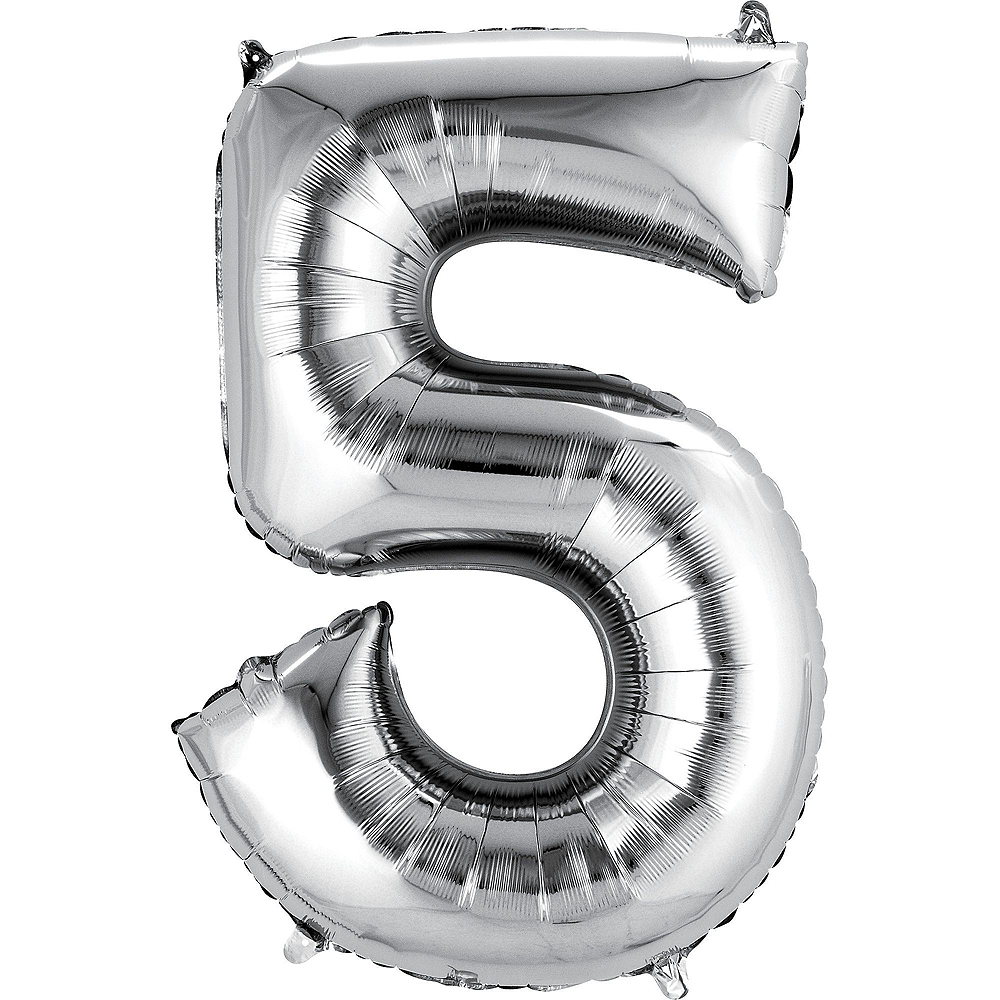 Silver 25th Wedding Anniversary Photo Booth Backdrop Kit Image #3