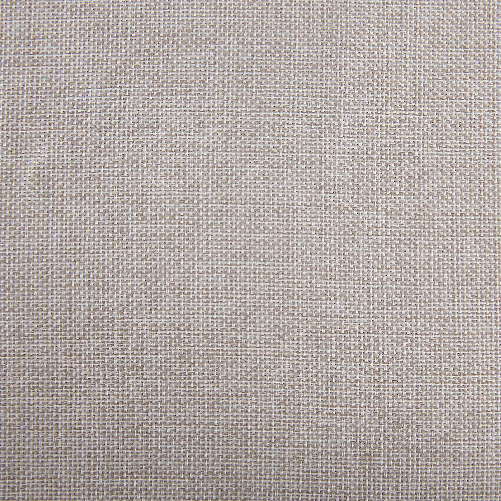 Taupe Heathered Fabric Round Tablecloth Image #2