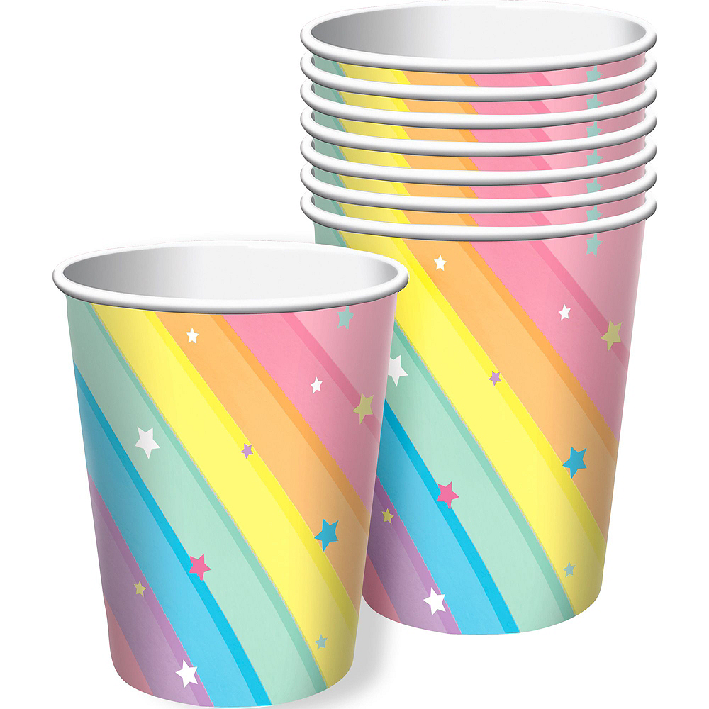 Magical Rainbow Tableware Kit for 8 Guests Image #6