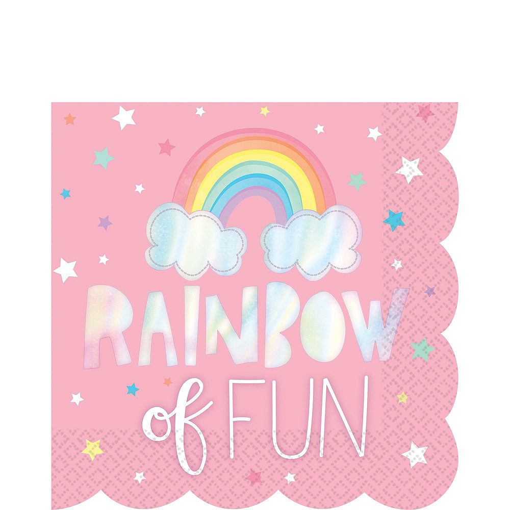 Magical Rainbow Tableware Kit for 16 Guests Image #5