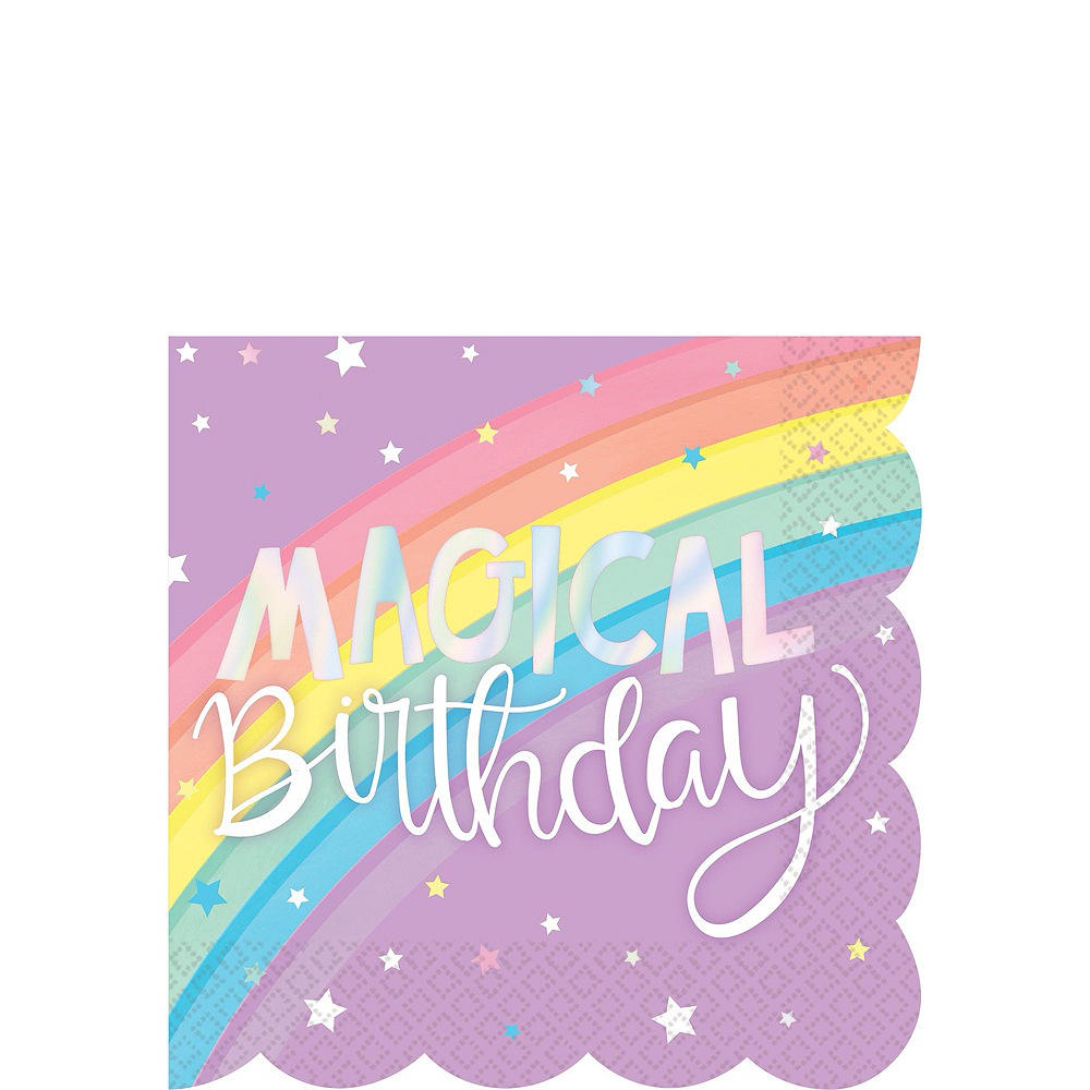 Super Magical Rainbow Party Kit for 24 Guests Image #4