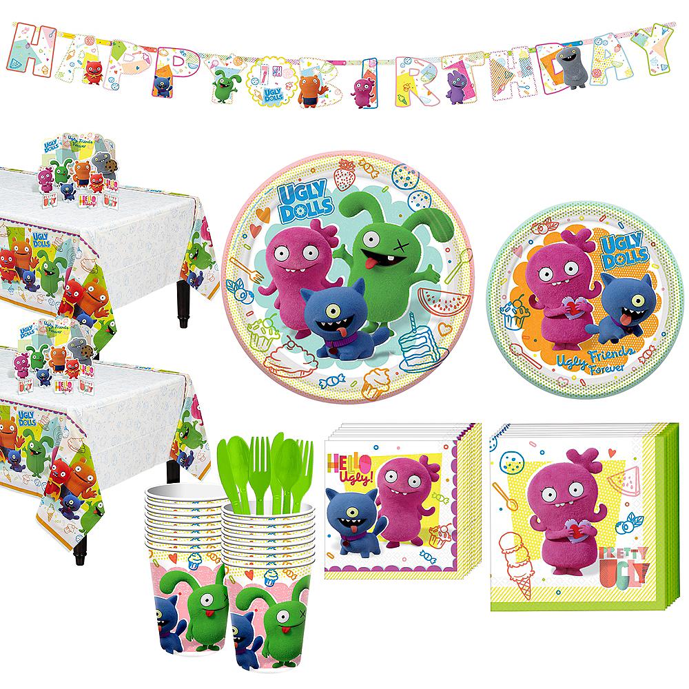 UglyDolls Tableware Kit for 16 Guests Image #1