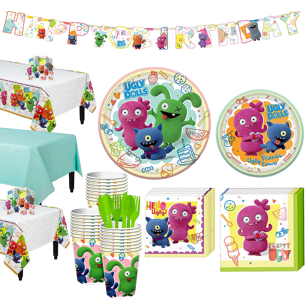 UglyDolls Tableware Kit for 24 Guests Image #1