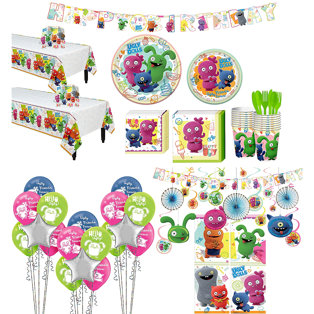 UglyDolls Party Kit for 16 Guests Image #1