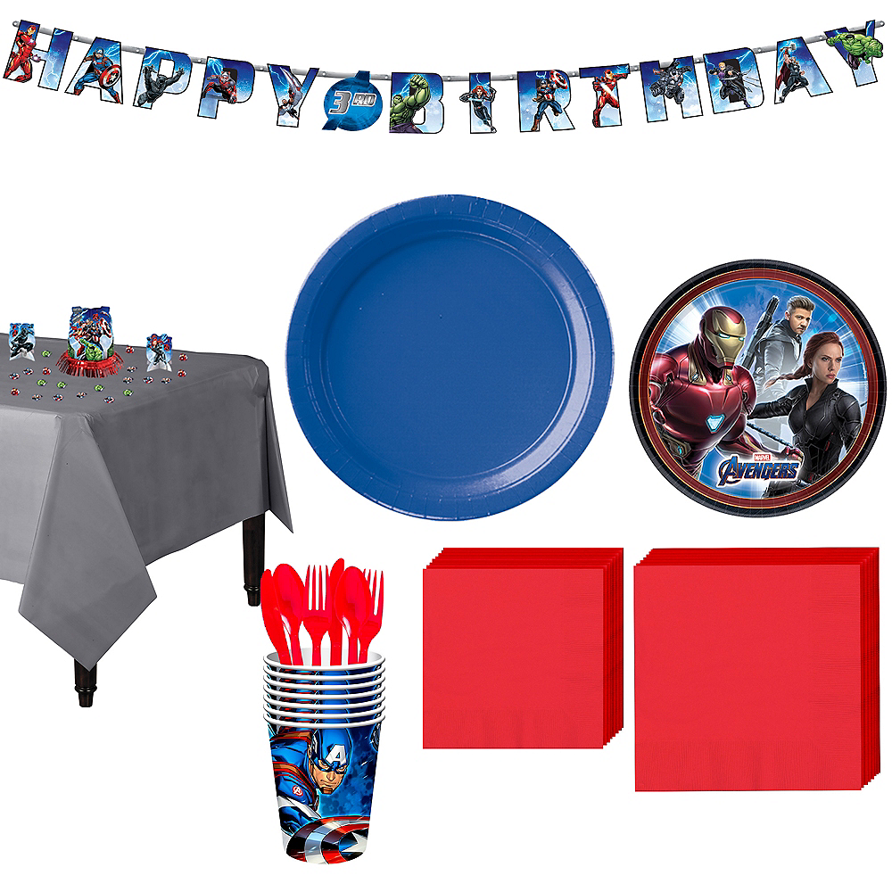 Avengers: Endgame Tableware Kit for 8 Guests Image #1