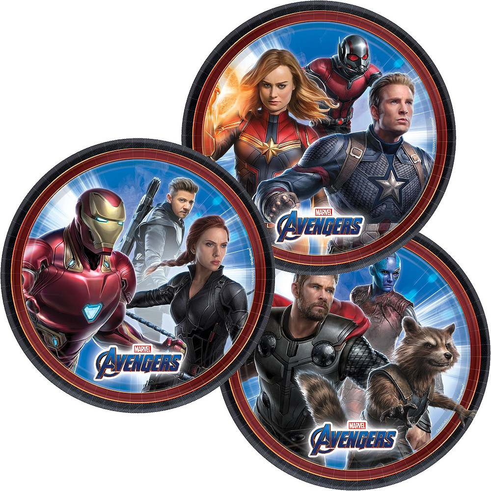 Nav Item for Avengers: Endgame Tableware Kit for 8 Guests Image #2