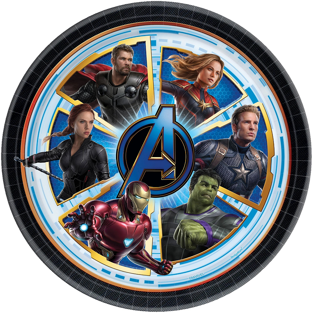 Nav Item for Avengers: Endgame Tableware Kit for 8 Guests Image #9