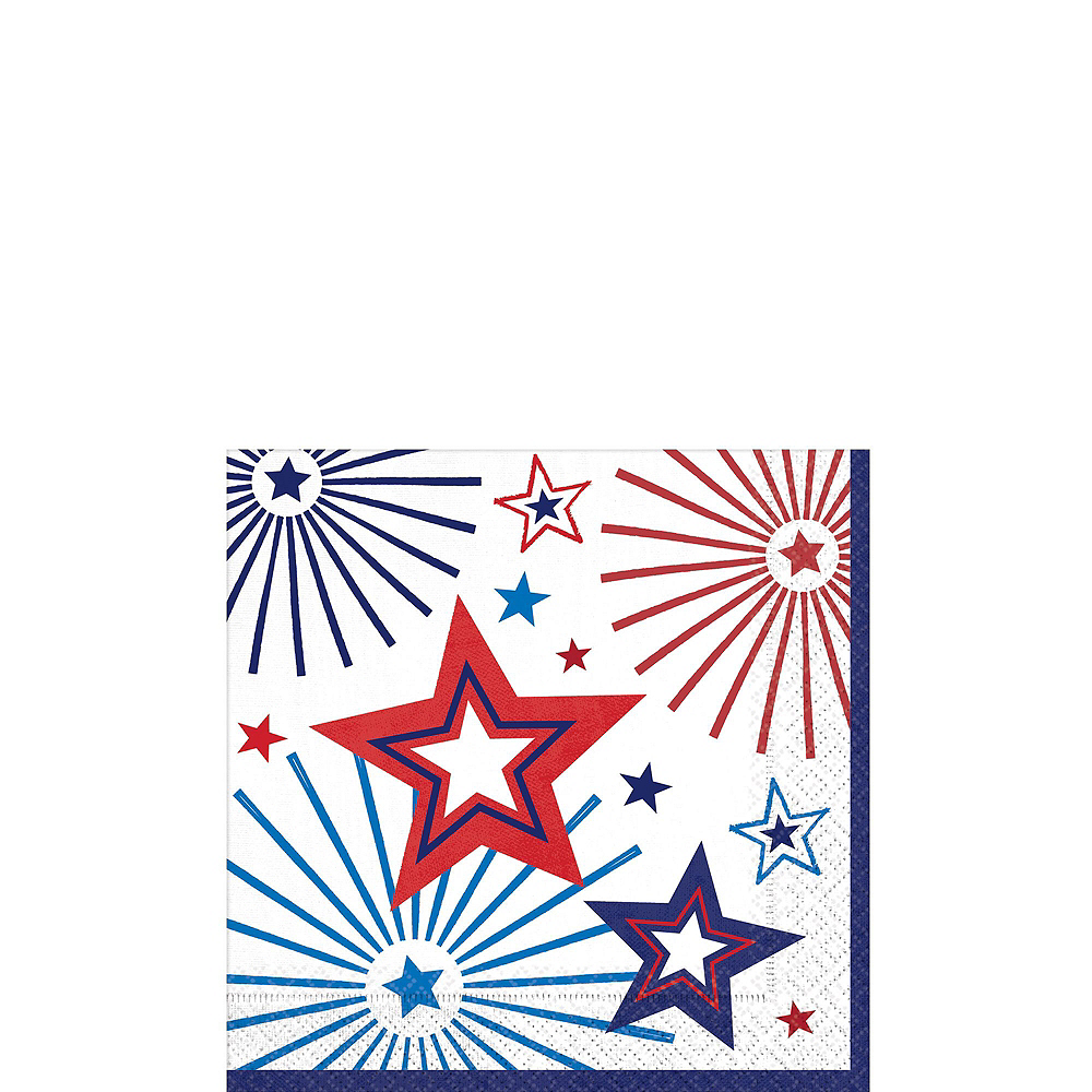 Happy 4th of July Tableware Kit 18 Guests Image #4