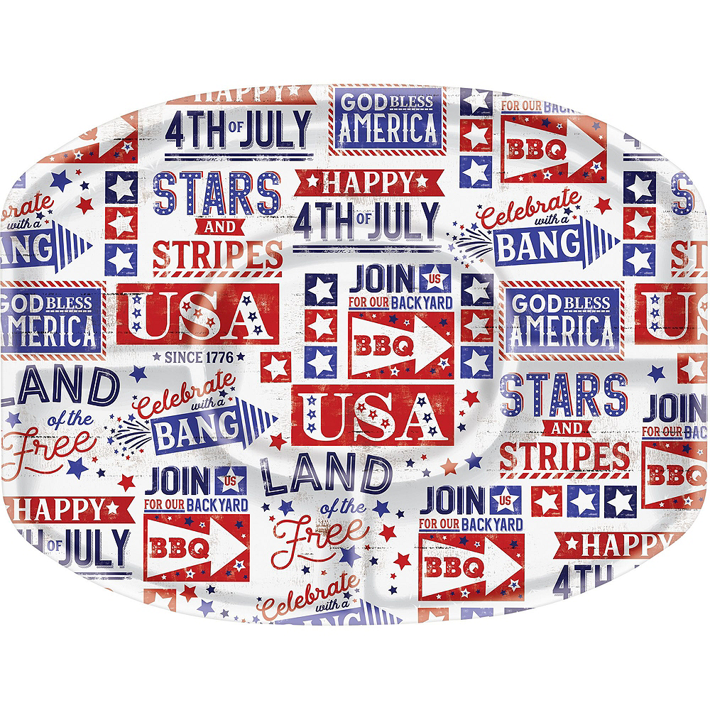 Nav Item for Happy 4th of July Serveware Kit Image #5