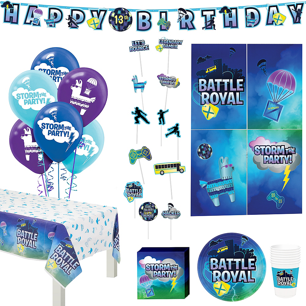 Battle Royal Tableware Kit for 8 Guests Image #1
