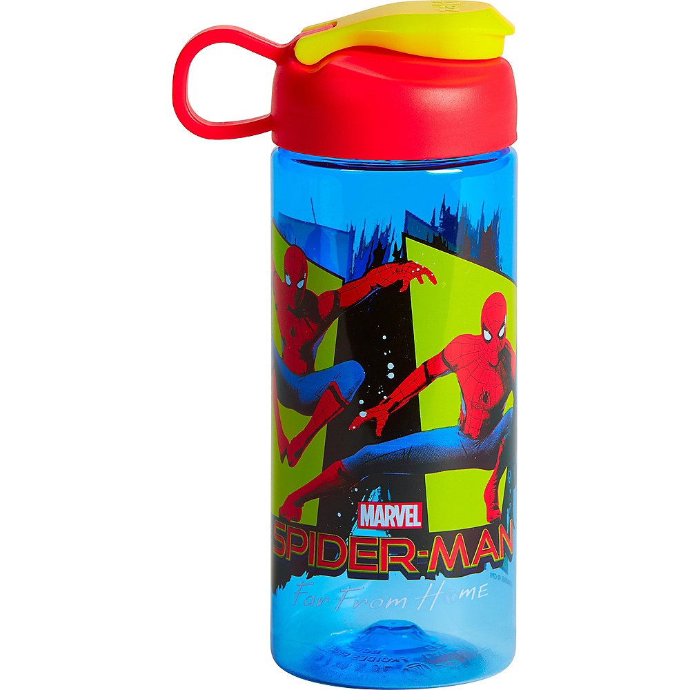 Nav Item for Zak Designs Spiderman Water Bottle 16.5oz Image #1