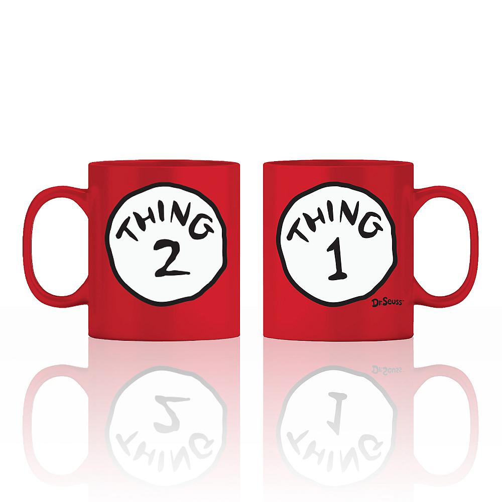 Red Thing 1 & 2 Mug - Dr. Seuss Image #1