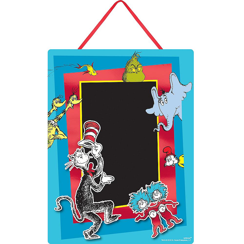 Dr. Seuss Chalkboard Easel Sign Image #1