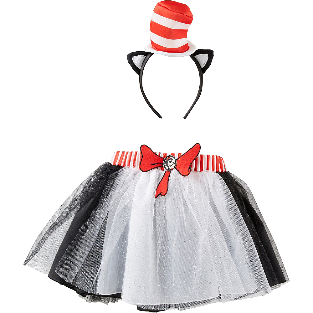 Child Cat in The Hat Costume Accessory Kit - Dr. Seuss Image #1
