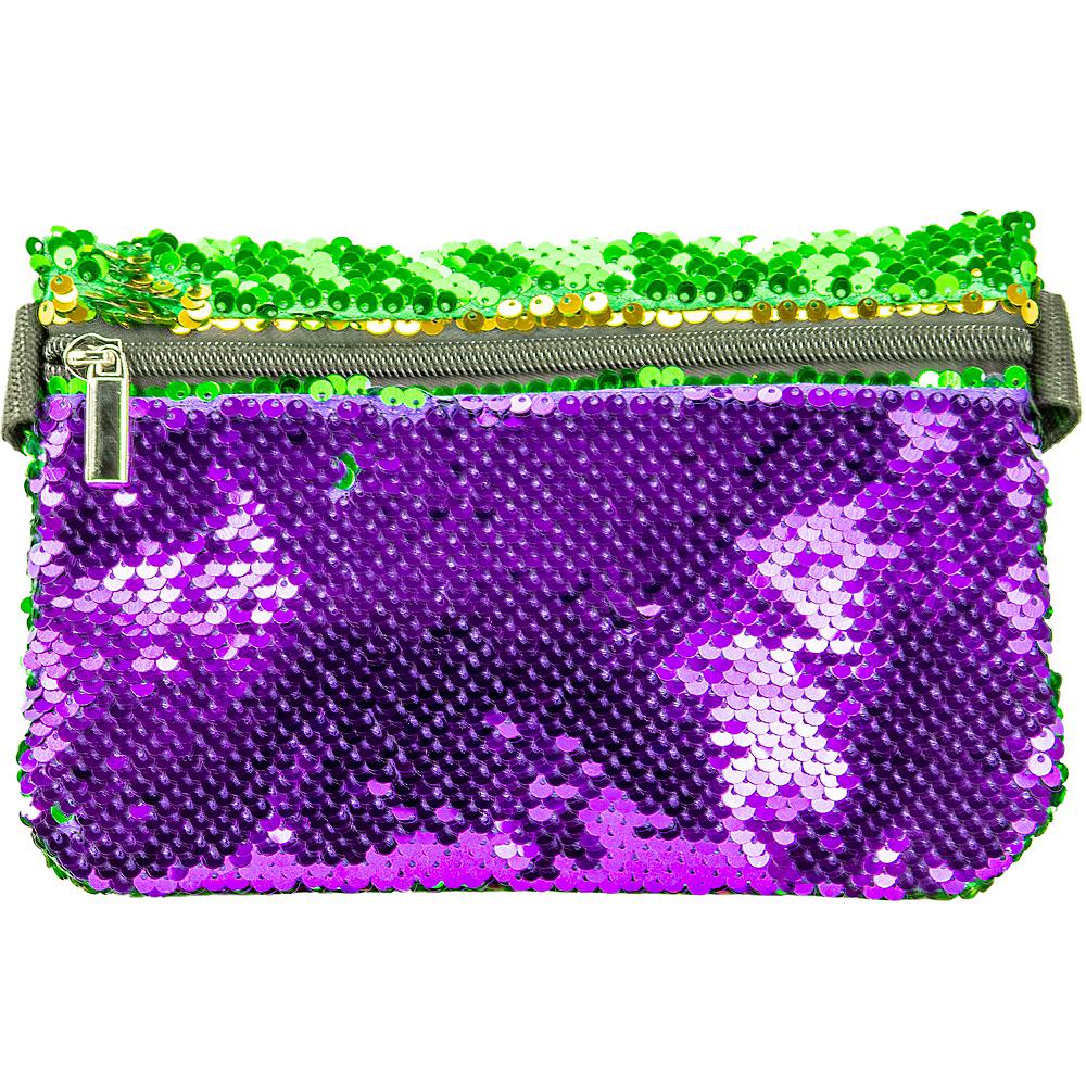 Mardi Gras Flip Sequin Fanny Pack Image #1