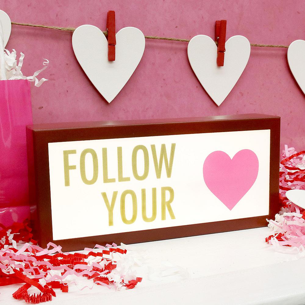 Follow Your Heart Light Box Image #2
