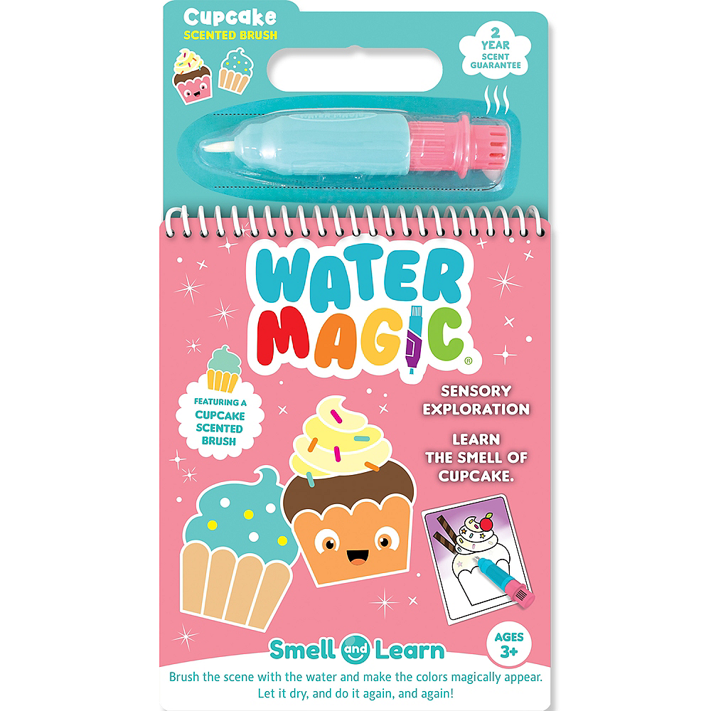 Water Magic Activity Pad with Cupcake-Scented Brush Image #1