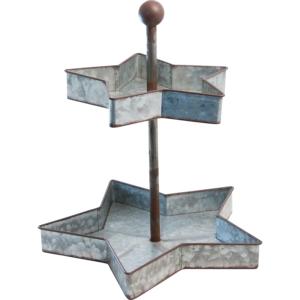 Rustic Star Treat Stand Image #1