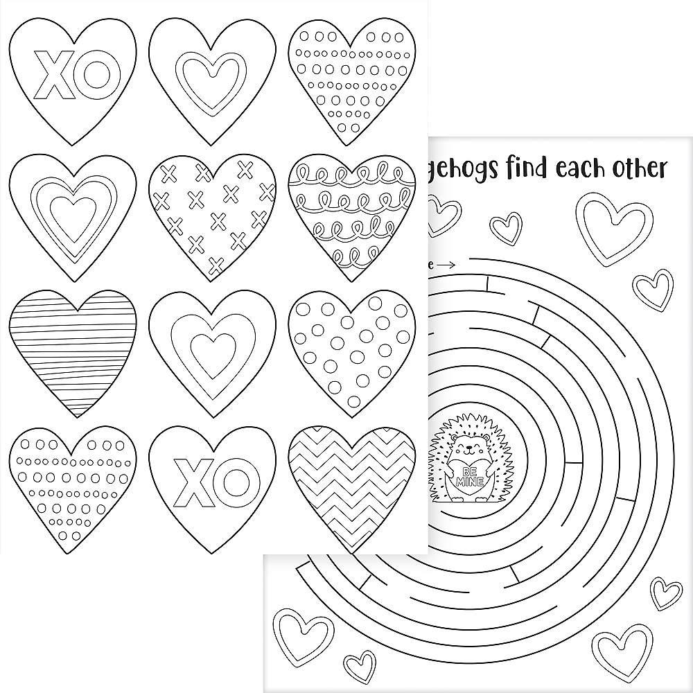 Cuddly Cubs Valentine's Day Activity Sheets  30ct Image #3